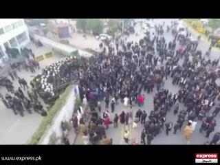 پی آئی سی پر وکلا کا حملہ، اسپتال کے اندر کے مناظر۔۔۔ ٹوٹل کتنا نقصان ہوا؟
