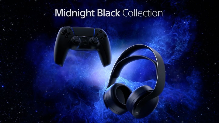 PS5 Midnight Black headset releasing next month