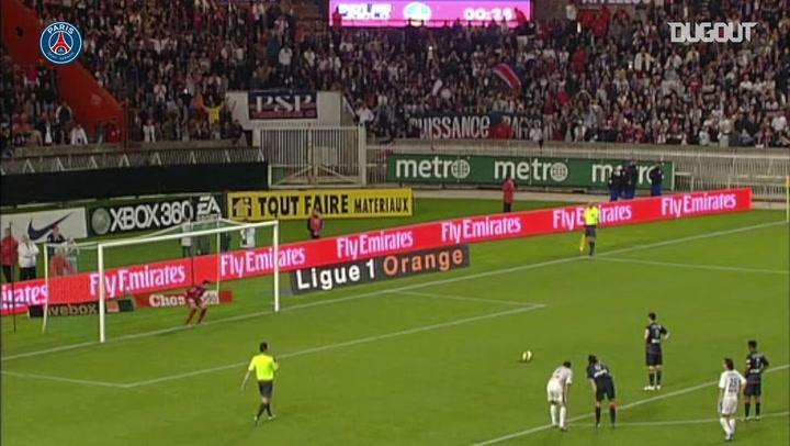 Pauleta brilha pelo PSG contra o Troyes em 2007