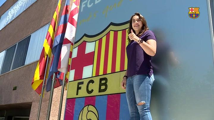 El Barça ficha a la joven guardameta Cata Coll