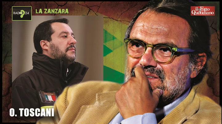"""Oliviero Toscani: """"Salvini? Imbecille totale. Meloni? Ritardata, brutta e volgare"""". Sdegno della deputata su Fb: """"Miserabile"""""""
