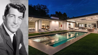Dean Martin's Former Home Blends Rat Pack Cool With Contemporary Style