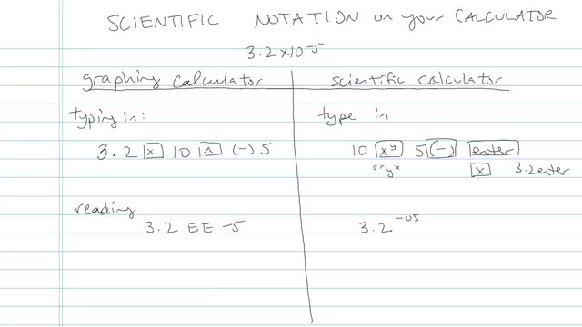 Scientific Notation - Problem 5