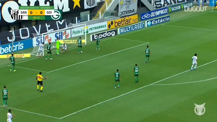 Highlights Brasileirão: Santos 3-4 Goiás