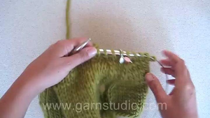 Hvordan strikke raglan