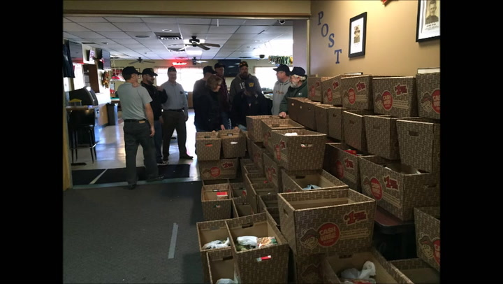 VFW Post 1639 Willmar assembles Thanksgiving Day Meals for Area Veterans