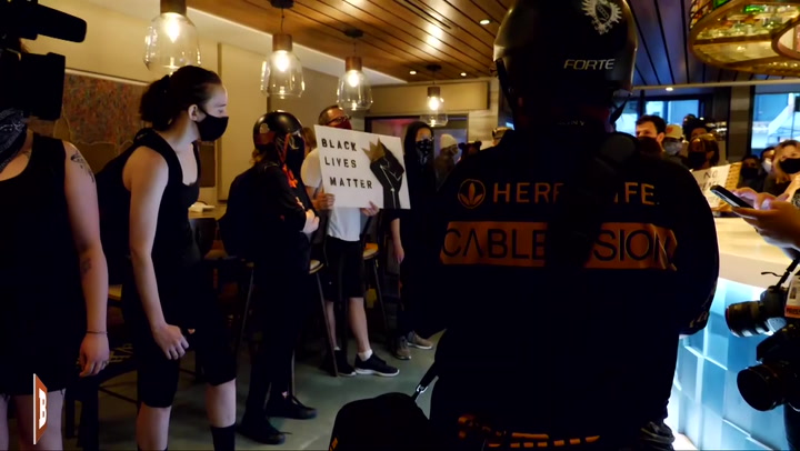 BLM Protesters Occupy D.C. Restaurant: 'Sorry for Your Inconvenience, but Black People Are Dying Today!'