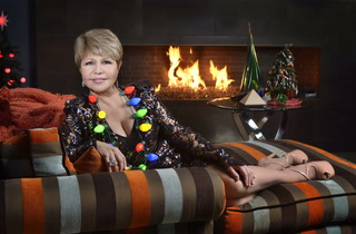 Home for the holidays with Pia Zadora