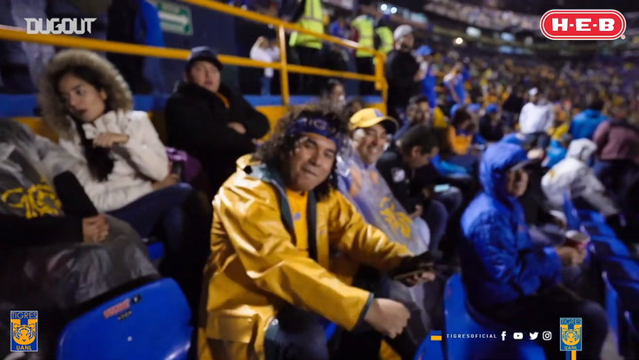 How Tigres players and fans celebrated Halloween 2019 at their stadium