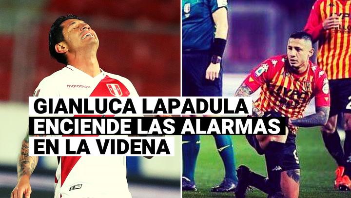 Selección Peruana: Gianluca Lapadula presenta esguince de tobillo