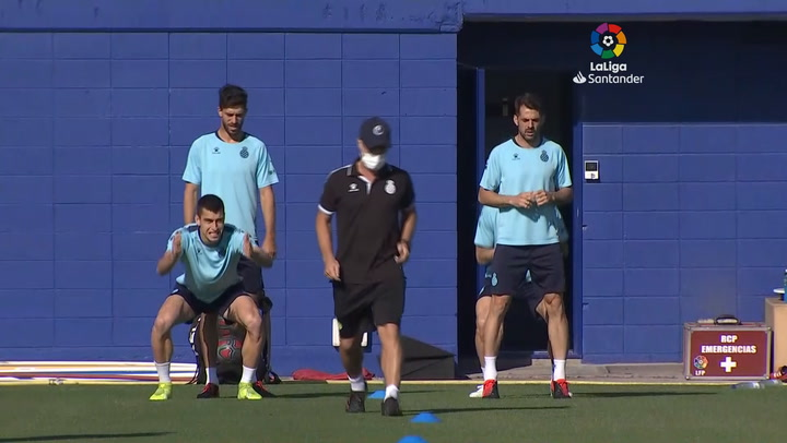 Sin lesionados en el Espanyol tras la segunda semana de entrenamientos
