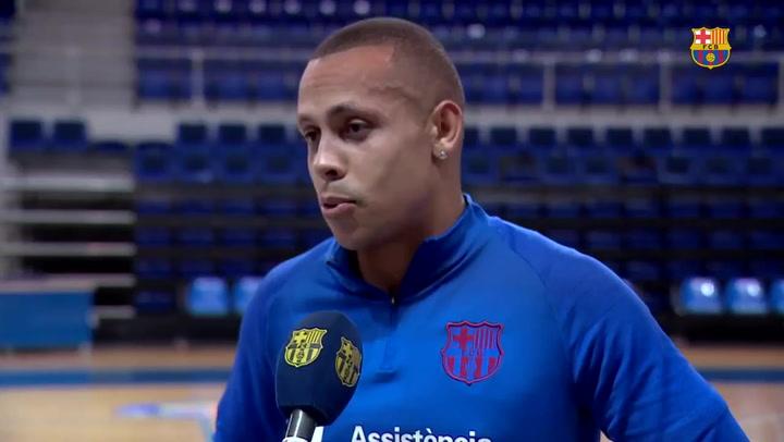 Ferrao se enfrenta por primera vez al Tyumen, su exequipo, en el debut del Barça en Champions