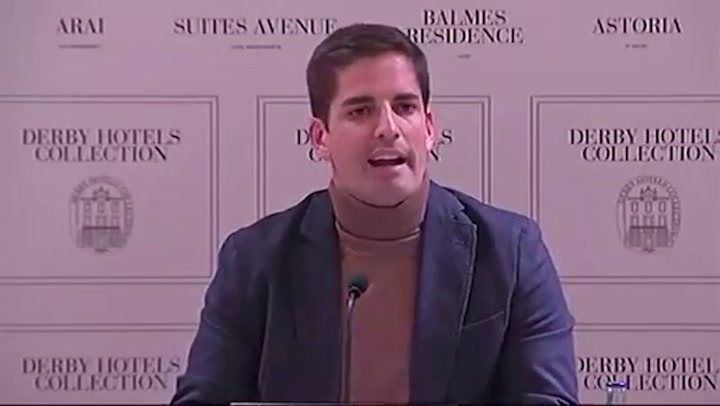 Rueda de prensa completa de Robert Moreno tras la polémica con Luis Enrique