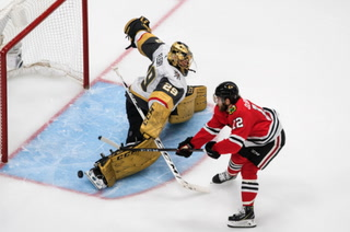 Fleury holds off Chicago for a win in game 3 – VIDEO