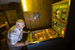 Las Vegas pinball wizard Spittin' Jerry Kaczmarek