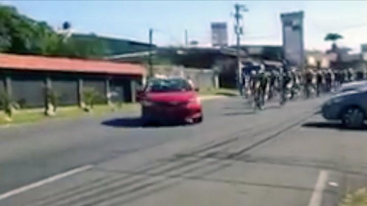 Taxien med skjebnesvanger avgjørelse – kjørte inn i sykkelfeltet