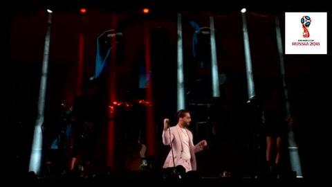 Maluma presentó Colors, la canción del Mundial de Rusia 2018