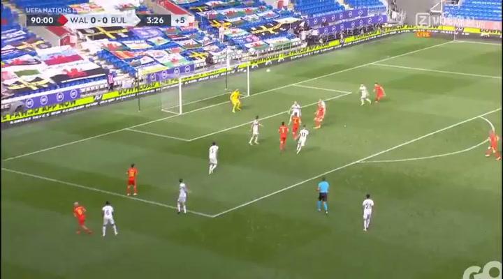 Neco Williams da la victoria a Gales sobre Bulgaria