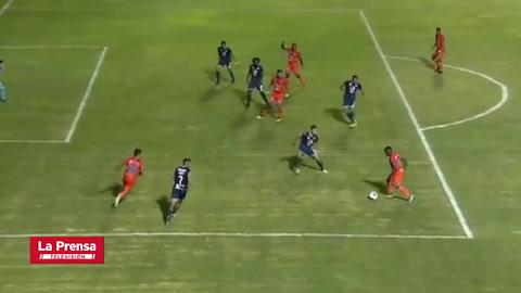 UPN 1 - 2 Motagua (Apertura 2020 de la Liga Nacional)