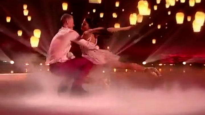 Faye Brookes wows as she makes Dancing on Ice debut