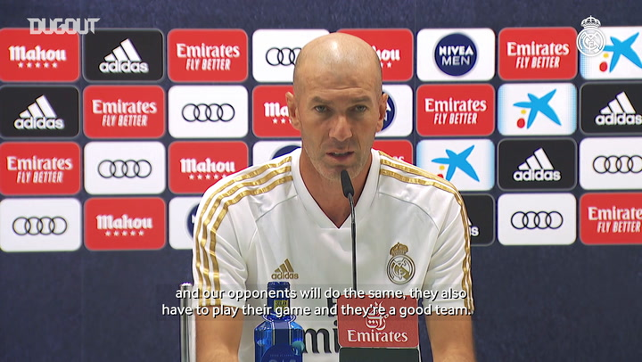 Zidane: 'All we're thinking about is beating Villarreal'