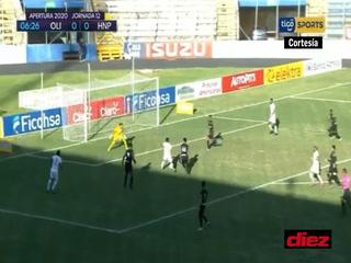 ¡Michaell Chirinos marca el primero en una gran jugada y Olimpia ya gana a Honduras Progreso!