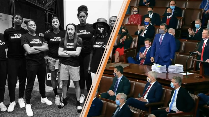 The WNBA's Atlanta Dream helps strengthen democracy, and AT&T's donations work to undermine it — brand hit and miss of the week