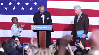 Bill Clinton on Campaign Trail for Hillary