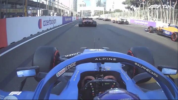 GP Bakú: La increíble salida de Alonso de la que todo el mundo habla