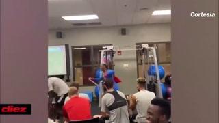 ¡Vestido de Superman! El alocado festejo de Brayan Beckeles tras la clasificación de Nashville a playoffs