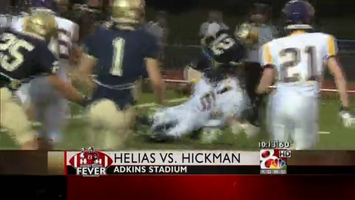 Hickman at Helias FNF Week Four