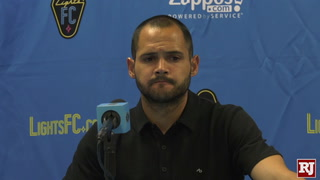 Las Vegas Lights Head Coach Reacts To Tie Against Tulsa