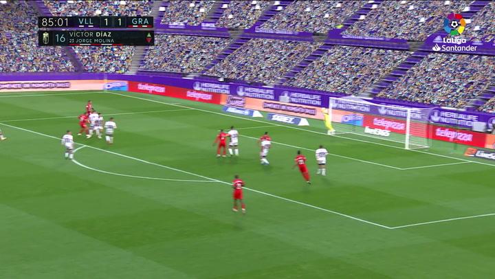 Gol de Quini (1-2) en el Valladolid 1-2 Granada