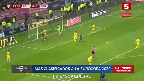 Rumanía 0-2 Suecia (Eliminatoria Eurocopa 2020)