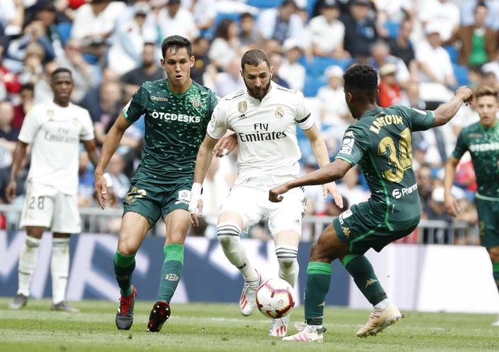 Betis-Real Madrid: La estadística de la previa
