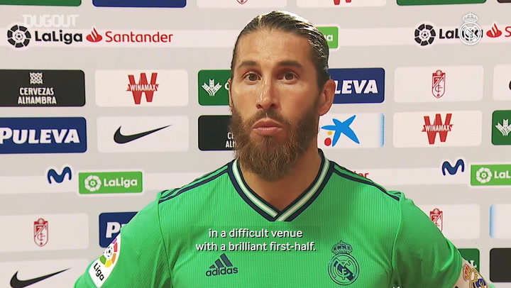 Ramos: 'We want to win the two remaining matches'