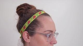 "3/4"" Elastic Fold-Over Headband"