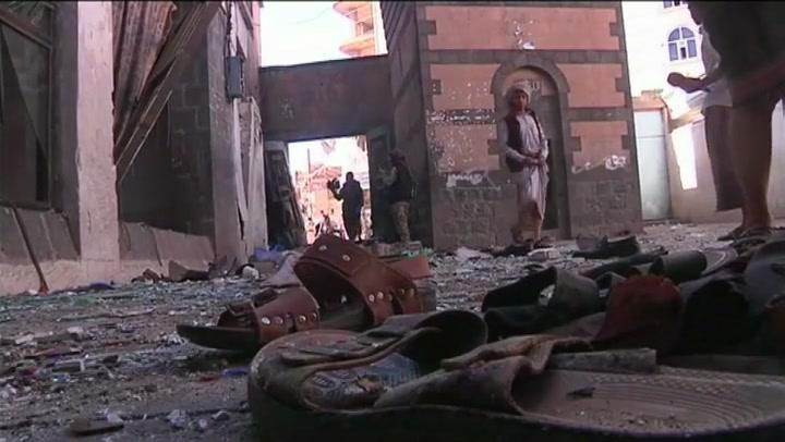 Doden bij aanslag op moskee Jemen