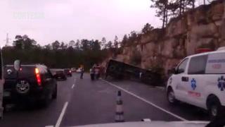 Varios heridos deja accidente de tránsito a la altura de Zambrano
