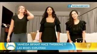 Vanessa Bryant y su hija se explotan las redes con un peculiar baile