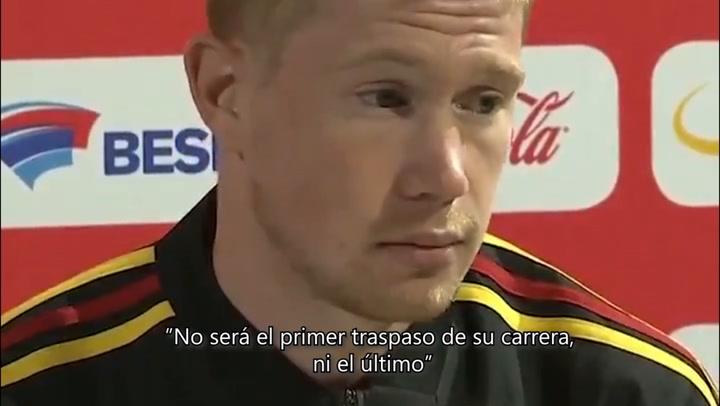 """De Bruyne: """"No pasará nada con Hazard en los próximos cuatro o cinco días"""""""