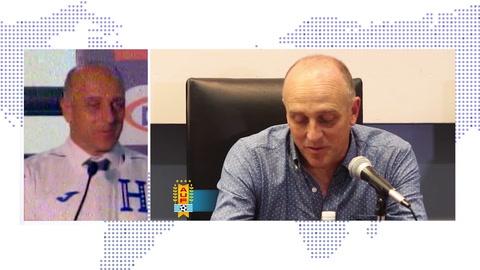 Fabián Coito fue presentado como nuevo entrenador de la selección de Honduras