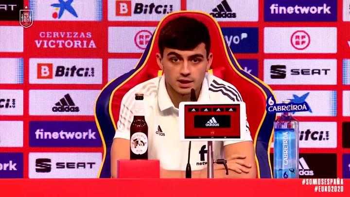 Las palabras de Pedri tras convertirse en el debutante más joven en un gran torneo con la selección española