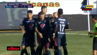 Motagua se pone a ganar ante Real Sociedad con gol de Carlos Meléndez
