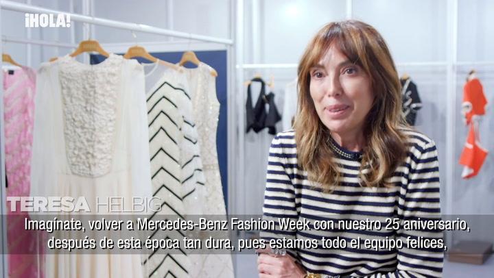Entrevista a Teresa Helbig: \'No tiene sentido tener tanta ropa\'
