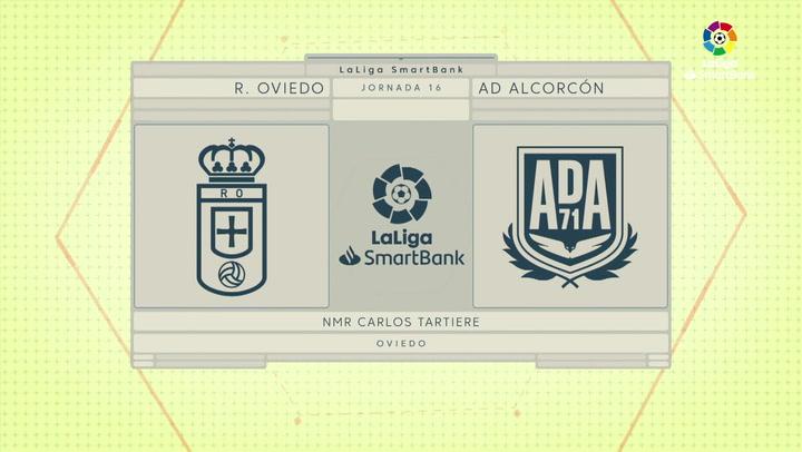 LaLiga Smartbank (Jornada 16): Oviedo 1-1 Alcorcón