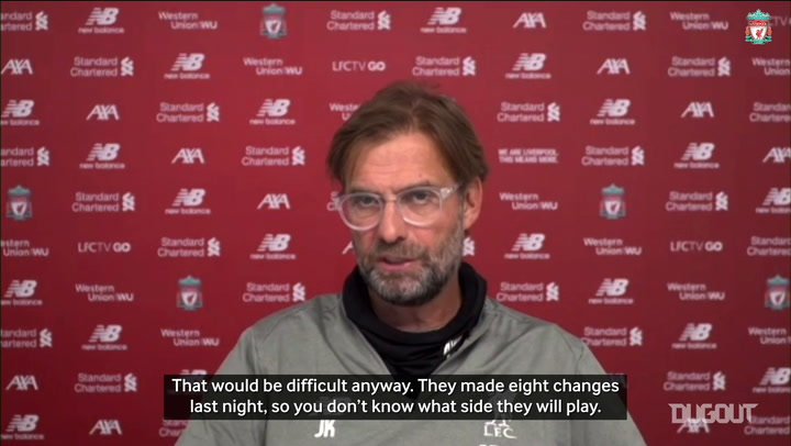 Klopp focused on Palace, not Man City clash