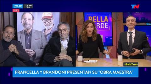 Francella dejó sin palabras a Nelson Castro al consultarlo por los cuadernos