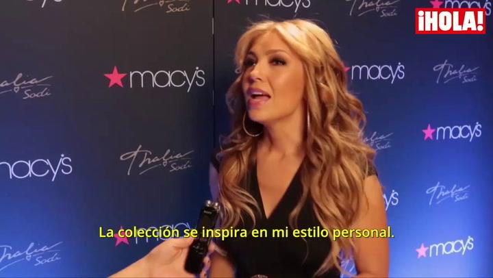 Thalía debuta como diseñadora en Nueva York: 'Se inspira en mi estilo. Son prendas cómodas y sensuales'