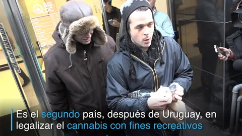 La marihuana ya se vende legalmente en Canadá